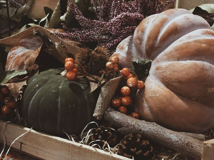 Pumpkin Autumn VSCO EyeEm Best Shots EyeEmBestPics EyeEmNewHere EyeEm Nature Lover No People Close-up Food And Drink Full Frame High Angle View Day Freshness Nature Food Autumn Mood