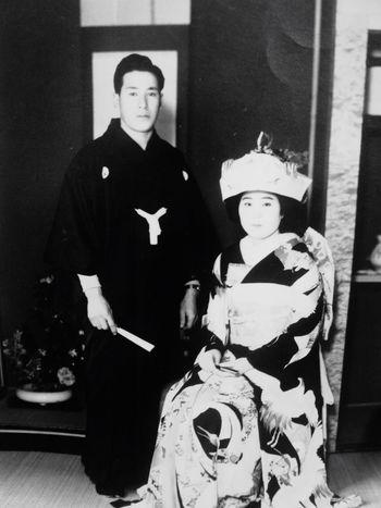 Monochrome Photography Granpa&granma Japanese Wedding Old Wedding