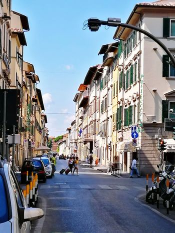 Italy Bar Cafe Sun Community Community Outreach Urban City Car Sky Architecture Building Exterior Built Structure Vehicle Parking The Way Forward Moving Zebra Crossing Road White Line Treelined Double Yellow Line Pathway