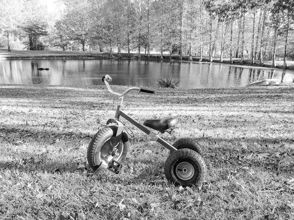 Day Outdoors No People Transportation Sand Land Vehicle Nature Childhood Tire Toy Kids Toy Vechicle Bike Trikes Trike Cycle Alone Single Object Riding Bike Riding Toy Kids Childs Toy Bikeporn Bikes Monochrome Black And White Black And White Friday
