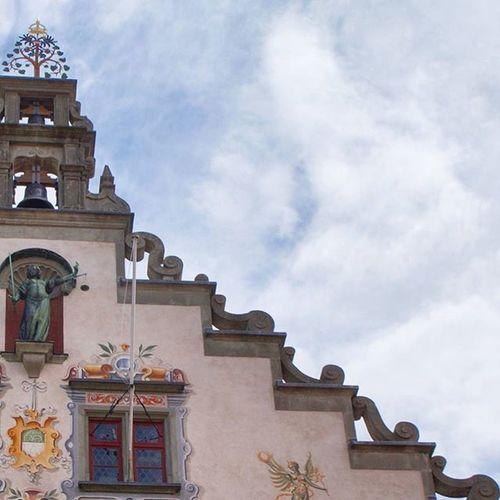 Beautiful Architecture and Design . The Altesrathaus Rathaus Townhall at the Insel Island Center . Lindau Bodensee Deutschland Germany . Taken by my Sonyalpha DSLR Dslt A57 . تصميم معمار مبنى بلدية جزيرة لينداو المانيا