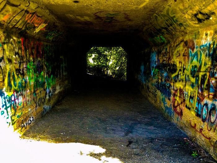 Tunnel under railroad tracks Architecture Tunnel Graffiti Secret Places Secret Special Moment Special Place Secretplace Underneath Special Moments Special Day