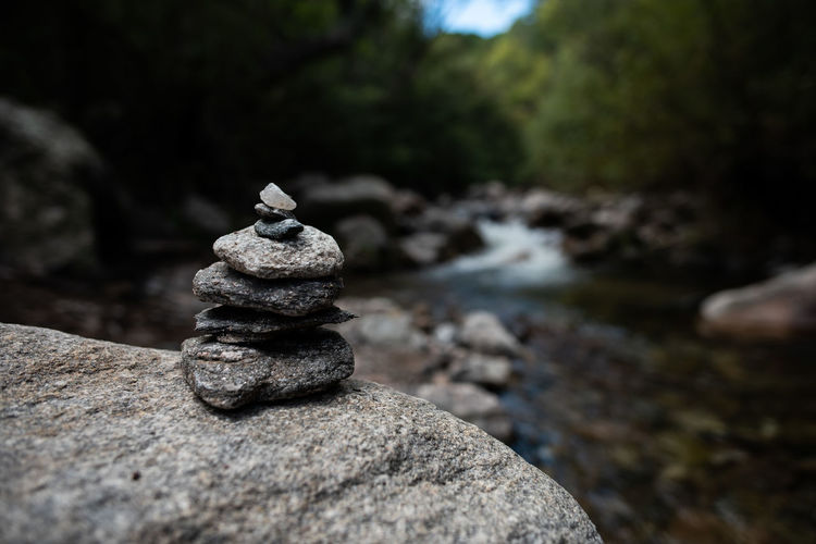 Rock Solid Rock - Object Stack Stone - Object Balance Nature Zen-like No People Stone Water Day Pebble Outdoors Tranquility Land Focus On Foreground Close-up Selective Focus