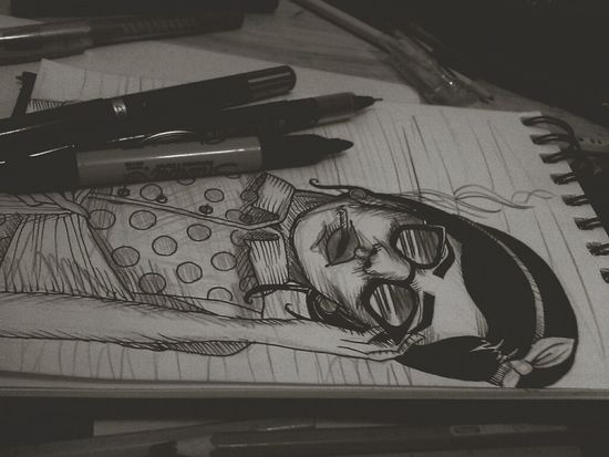 50's inspired. Vintage My Drawing Fortheloveofblackandwhite Back To The 50's