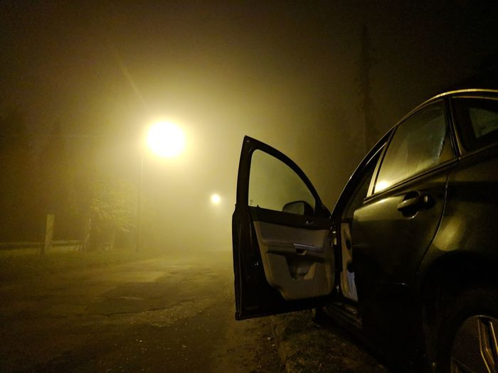Last 5km on way to Łódź visibility was pretty bad but fortunately we made it safe. Open Door Door Night Car Foggy Fog Mist Weather Hazy
