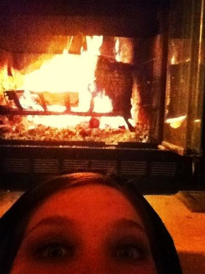 Chillin By The Fire