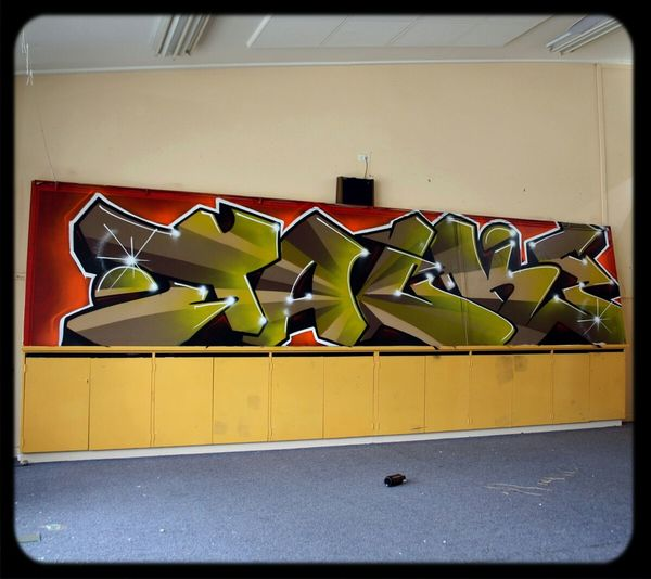 Graffiti in Abandoned Places Wildstyle Old School