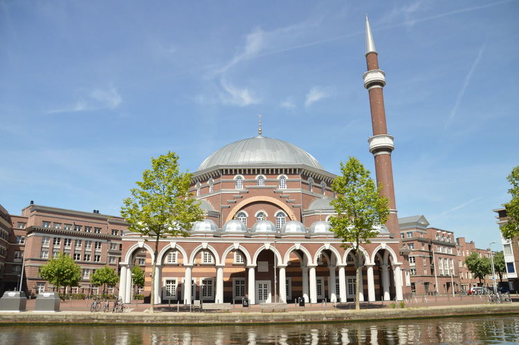The Mosque Aya Sofya At Amsterdam The Netherlands Amsterdam Netherlands Architecture Aya Sofa History Islam Mosque Place Of Worship Religion Sky Travel Destinations