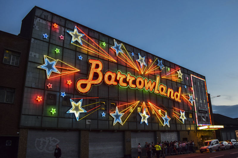 Barrowland Ballroom GLASGOW CITY Glasgow  Architecture Barrowlands Building Building Exterior Built Structure City Clear Sky Communication Illuminated Information Low Angle View Multi Colored Nature Neon Neon Lights Night No People Outdoors Sign Sky Text Western Script
