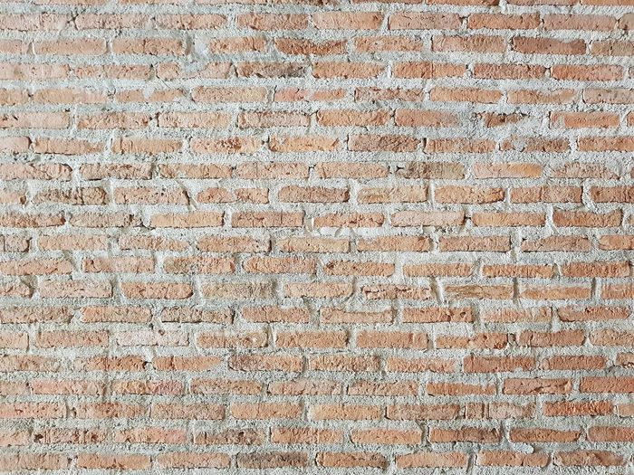 Brick Wall Backgrounds Full Frame Textured  Pattern Ink Close-up Grunge Mottled Textured Effect Smudged Fiber Scratched Uneven Peeling Off Scribble Rough Abstract Backgrounds Stained Wallpaper Weathered Distressed
