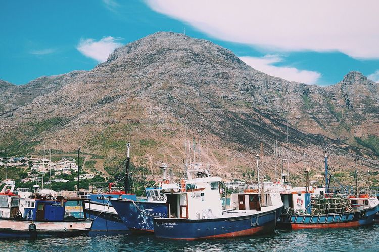I like big boats and I cannot lie. Boats Harbour Capetown South Africa Water Water_collection Nature Nature_collection Landscape Landscape_Collection Mountains EyeEm Best Shots Beach