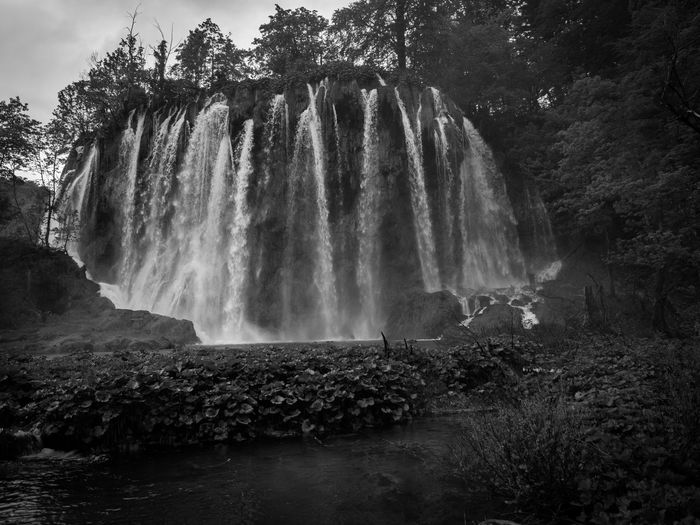 Nature Waterfall Water Outdoors Plitvice National Park