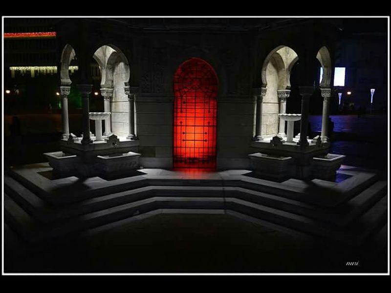 Night Photography Travel Izmir Turkey