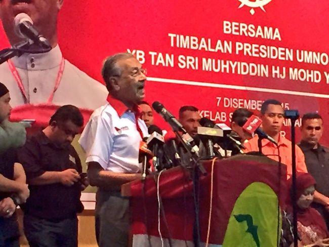 Tun Mahathir TunM Umno Perhimpunan Khas TSMY Former Prime Minister Malaysia Prime Minister
