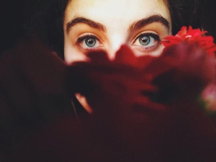 Eyes Flowers My Best Photo 2015 The Portraitist - 2017 EyeEm Awards
