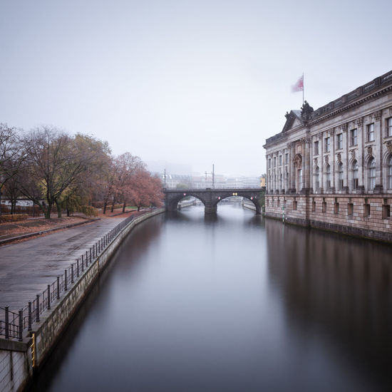 Autumn Mood around the Bodemuseum in Berlin, Germany Architecture Autumn In The City Autumn Season Berlin Bodemuseum Bridge - Man Made Structure Built Structure City Cityscape Connection Day Fine Art Longexposure Museum Island No People Outdoors Philipp Dase Politics And Government River Sky Transportation Travel Travel Destinations Tree Discover Berlin
