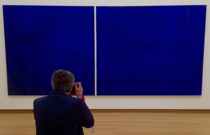 Blue On Blue  StedelijkMuseum Amsterdam