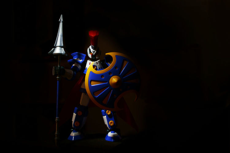 Achilles Action Figures Actionfigurephotography Actionfigures BANDAI Black Background Colorful Dark Gundam Gunpla Illuminated Light Painting Man Made Object Multi Colored Night Sparta Spartan Studio Shot Troy