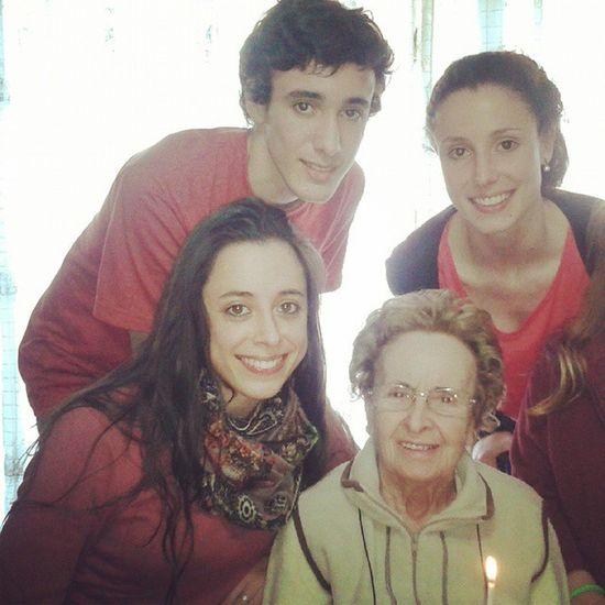 Cumple feliz de la abuela 84
