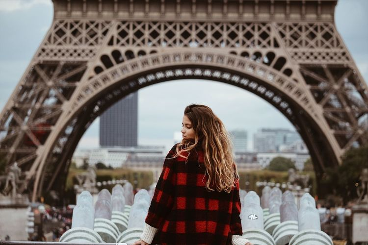 EyeEm Selects EyeEm Gallery Eye4photography  EyeEmNewHere EyeEm Best Shots Eiffel Tower Real People Leisure Activity Travel Destinations Arch One Person Tourism Architecture Fresh On Market 2018