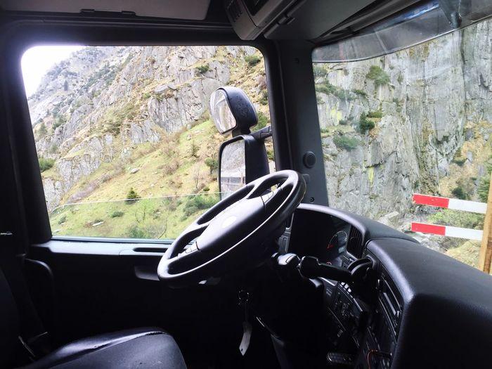Truck Switzerland On The Road On Tour Trucks Truckinglife Driving Drive Schöllenen Pass