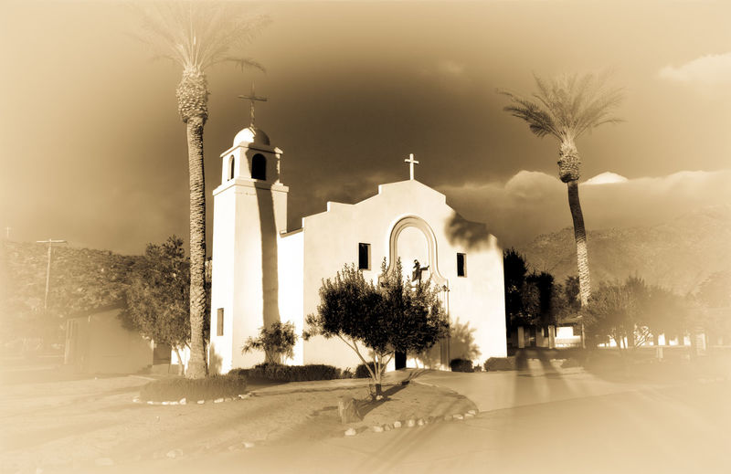 Mexican church Church Mexican Culture Eglisau Sepia_collection Sepiatone Sepia Photography Anza Borrego Park View Anza Borrego California
