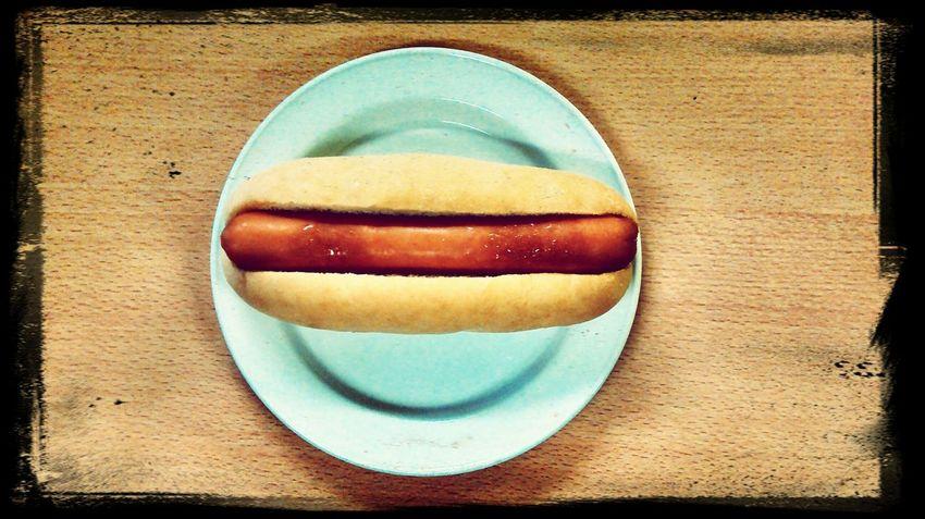 Food Porn Hot Dog.