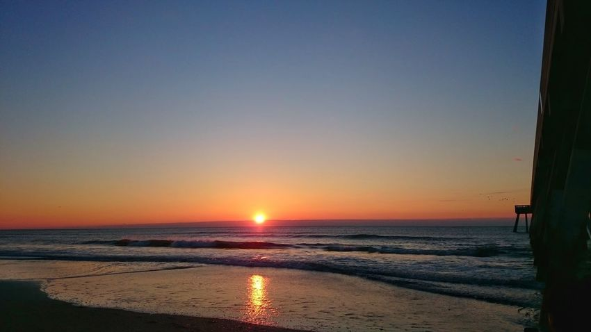 Beautiful sunrise over Wrightsville Beach, NC Sunrise Wrightsville Beach Reflections