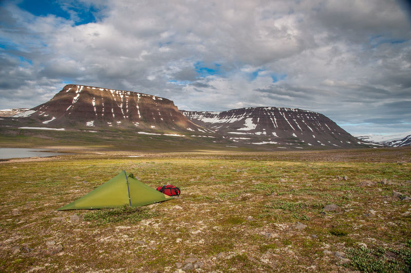 Beauty In Nature Camping Greenland Landscape Mountain Mountain Range Nature Outdoors Tent
