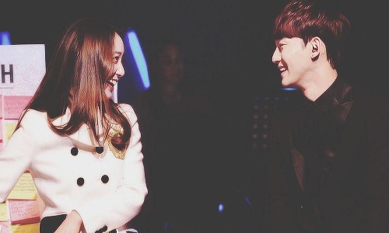 love them♥ Krystal F(x) EXO Chen