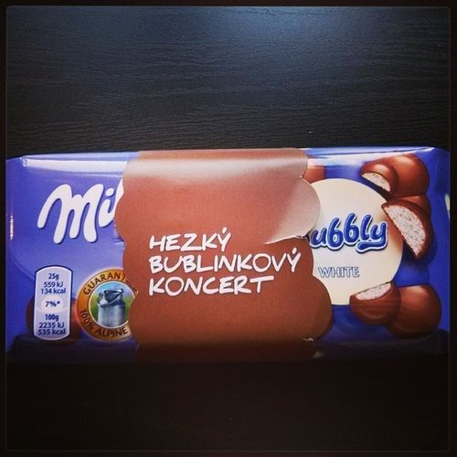 Hezký bublinkový koncert s Michaelbuble Concert Praha Prague chocolate