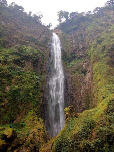 Water Waterfall Motion Long Exposure Splashing Beauty In Nature Spraying Scenics No People Nature Outdoors Day Tree Freshness Sky Beatifull place.