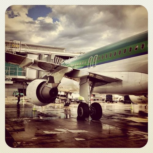 Good to be back home ?☁☁??☔? #after_rain #airport #dublin #ireland #aerlingus #airbus #earlybirdlove #jj Dublin Airport Ireland Photooftheday Airbus Jj  Earlybirdlove After_rain Aerlingus
