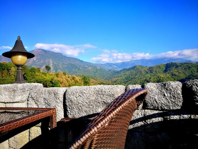 View Vocation Time Tea Time Relaxing Relax Moments Of Life Mountain Sky Religion No People Shadow Outdoors Day Nature