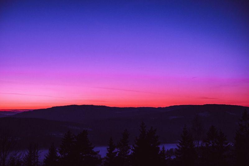 Fake Paradise Sunset Nature Tranquility Beauty In Nature Scenics Mountain Sky 35mm Sunset Sunrise EyeEm Best Shots The Week Of Eyeem Colors Photography EyeEm Gallery