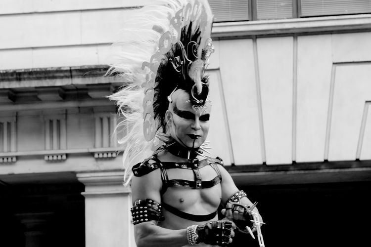 Picturing Individuality Punks Punk Black & White London Gay Pride Eye4photography  Eye4black&white  EyeEm Best Shots - Black + White Francesca Della Croce