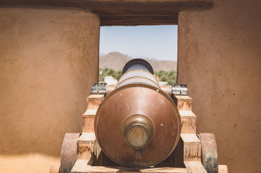 Abandoned Architecture Cannon Canon Close-up Fort Nizwa Fort Oman Rusty Travel Travel Destinations Travel Photography Weapon