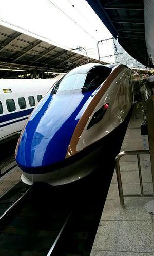 "北陸新幹線 ""Hokuriku-Shinkansen Super Express"" JR East E7 Train SuperExpress Shinkansen JREast Kagayaki Tokyo Terminal Tokyo Station Travel"
