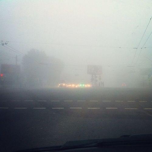 Fog Morning Lviv