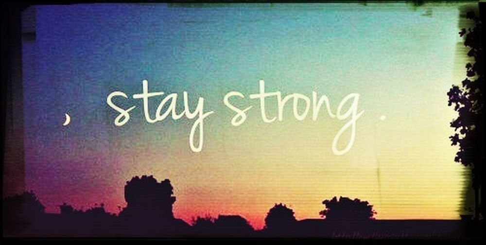 Stay Strong xx Suicideprevention First Eyeem Photo