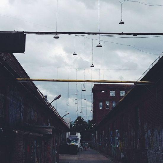 Hanging lights. #everchangingberlin #ecb_reclaim #instameet #vscocam