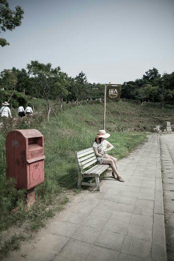 Postbox Vintage Postbox 郵便箱 😚 우체통 Bus Station バス停留場 버스정류장 Waiting 待ち時間 기다림