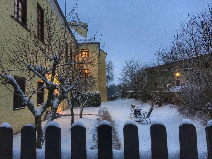 Castle in the Snow Winter