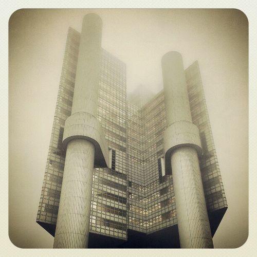 Die HVB im Nebel