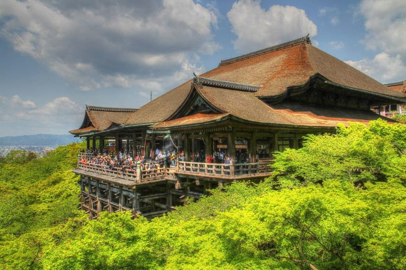 Japan Japanese Culture Japanese Garden Japanese Temple Kiyomizu-dera Kyoto, Japan Amazing Architecture