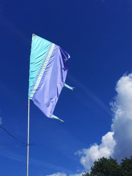 Festival Season Festival London Ealing Ealing Jazz Festival Ealing Blues Festival Flag Blue Blue Sky Summer Music Outdoors TakeoverContrast