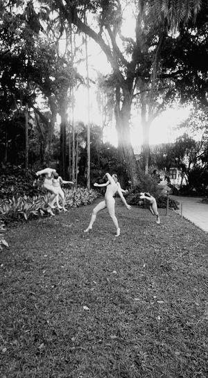 Rio De Janeiro Contemporanyart No People Jardim Botânico Rj Dance!! Black & White