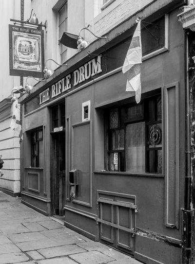The Rifle Drum, Drum Lane, Northampton Northampton Pubs Northampton Black And White Architecture