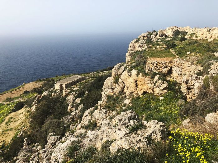 By the Dingli Cliffs 🇲🇹 Outdoors Sky Rock Malta Sea Dingli Cliffs