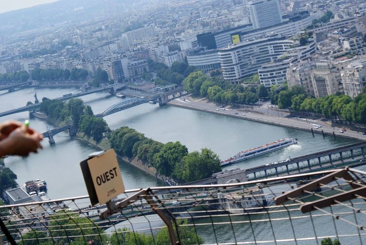 Paris 💓 EyeEm Gallery Finding New Frontiers Cityscape View View From Eiffel Tower Paris River Travel Travel Destinations Vacations No People Outdoors Day City Life Urban Landscape Holiday View From The Eiffel Tower Travel Photography Hello World EyeEmNewHere Flying High Neighborhood Map